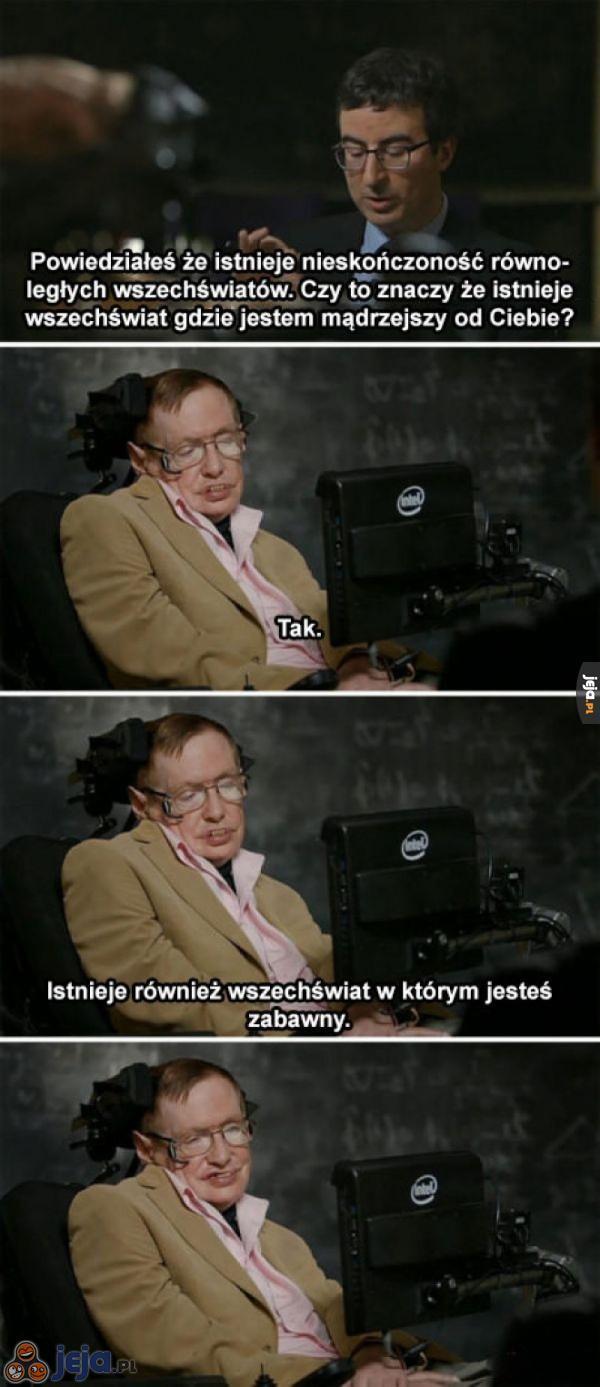 Stephen, ty śmieszku