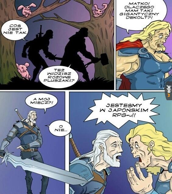 Hai, Geralt-san!