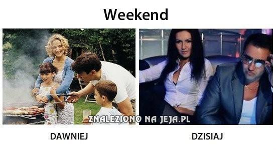 Weekend dawniej i dzisiaj