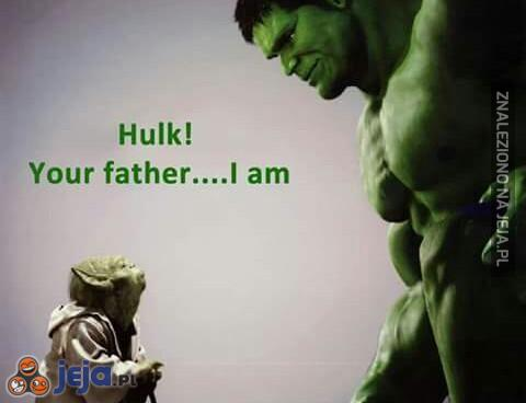 Hulk i Yoda