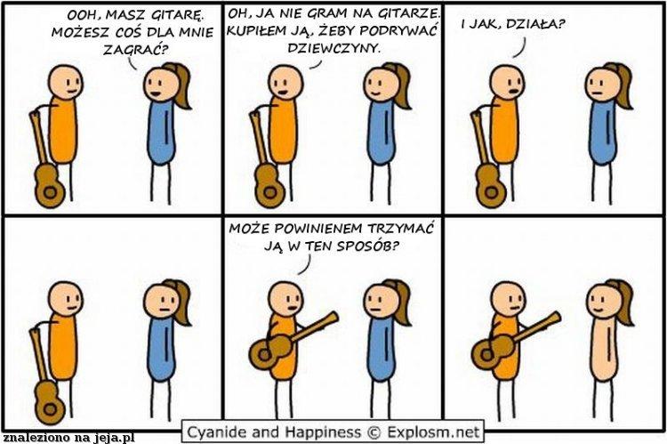Granie na gitarze