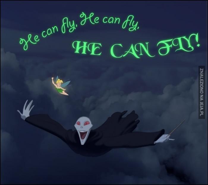 On umie latać!