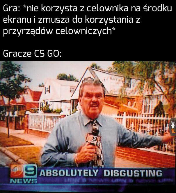 Typowy Gracz CS GO