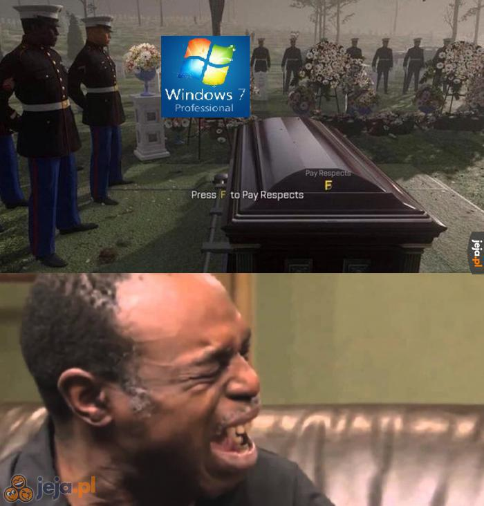 Żegnaj, stary przyjacielu.