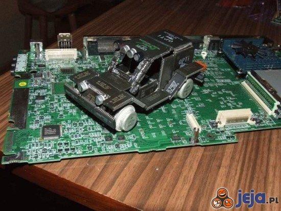 Elektryczny samochód
