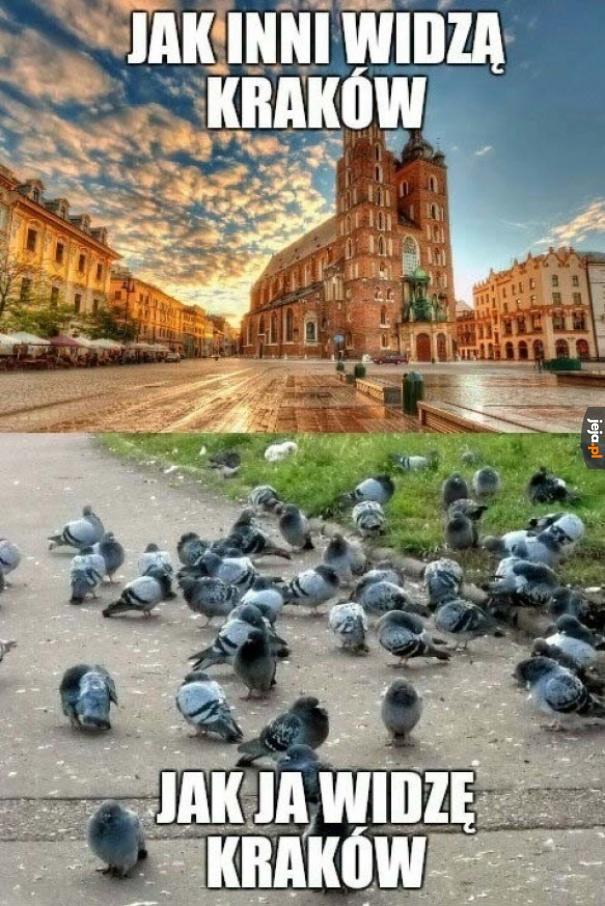 Dwa oblicza Krakowa