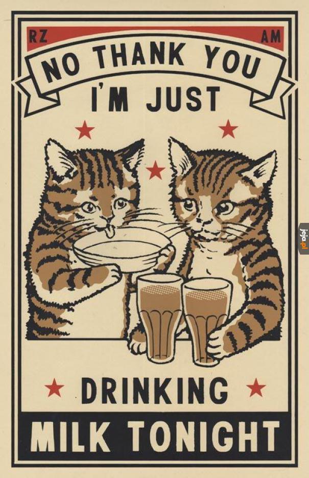 Ja dziś tylko mleko