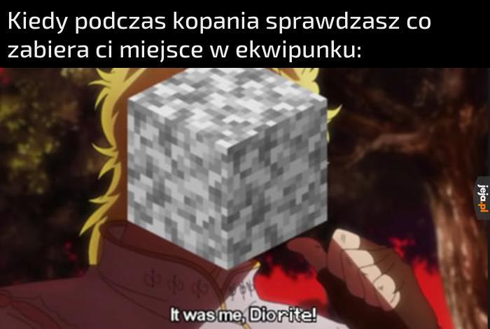 Myślałeś że to kamień