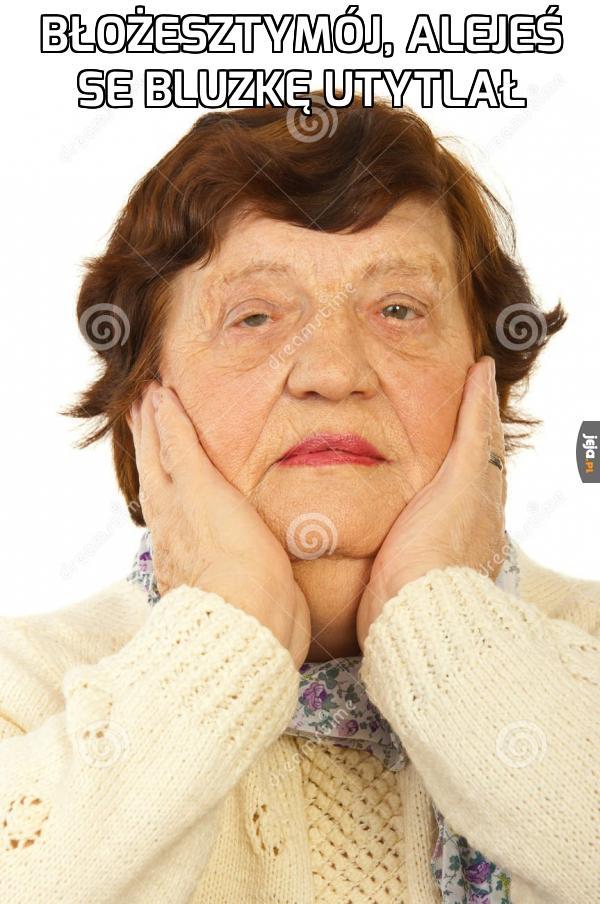 Zdziwienie każdej babci