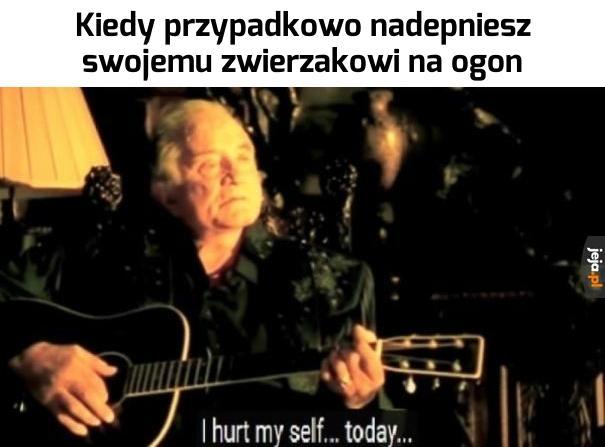 Największy ból