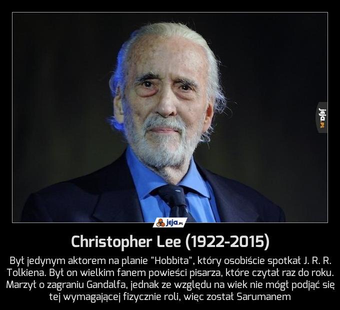 Christopher Lee (1922-2015)