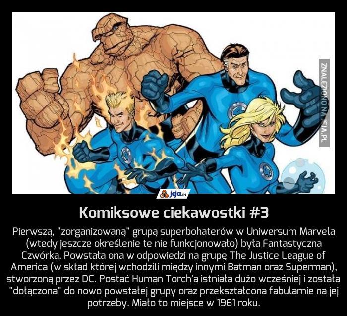 Komiksowe ciekawostki #3