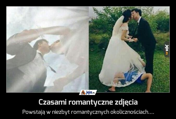 Czasami romantyczne zdjęcia