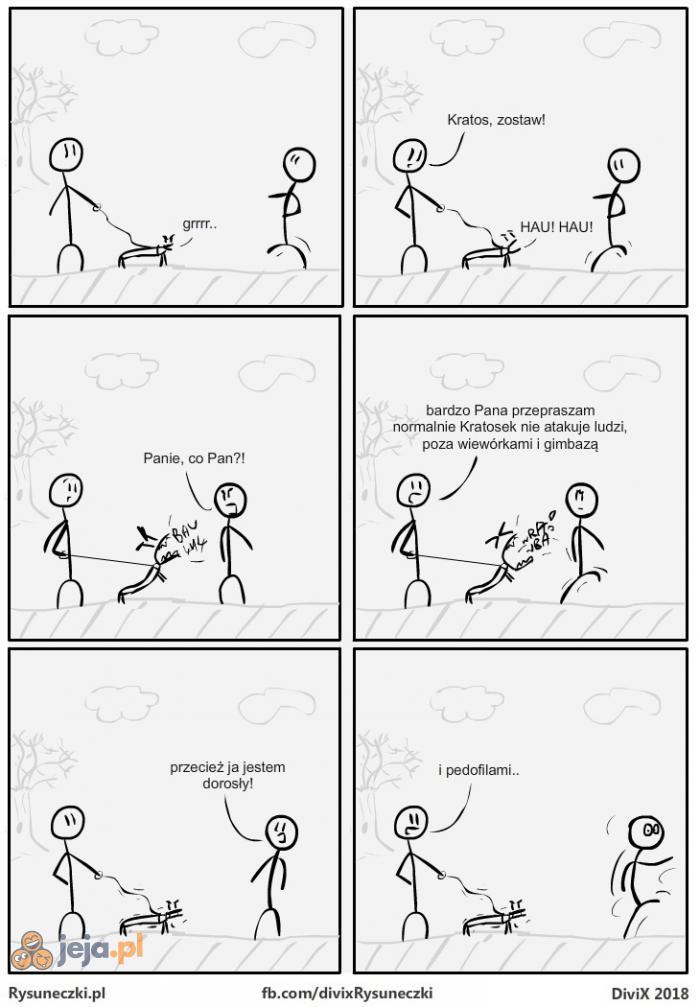 Pies wyczuje