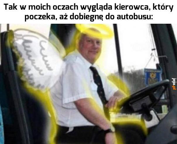 Anioł z pana, panie Grzesiu