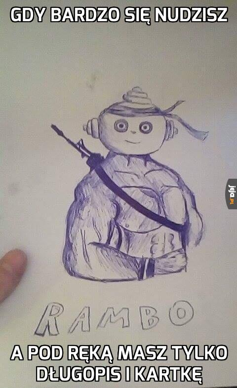 Nudne rysowanie