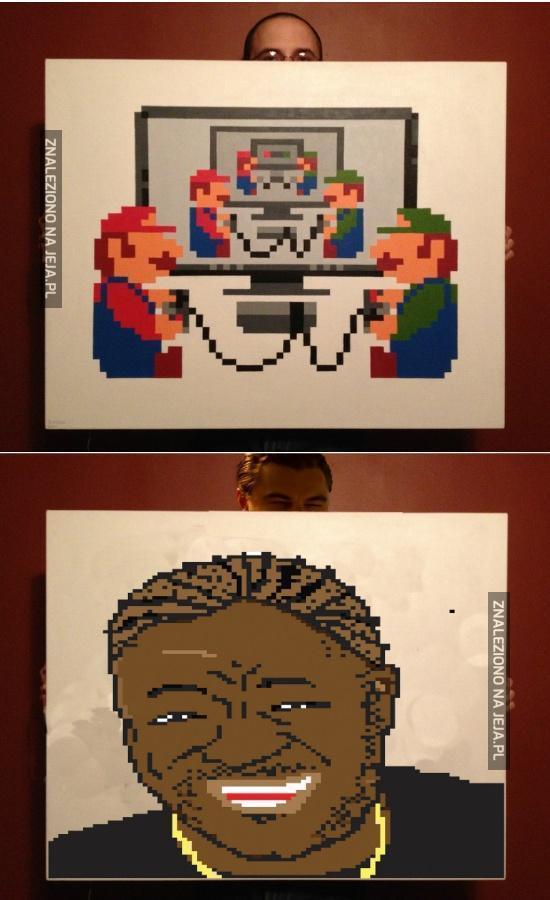 Pikselowa Mariocepcja