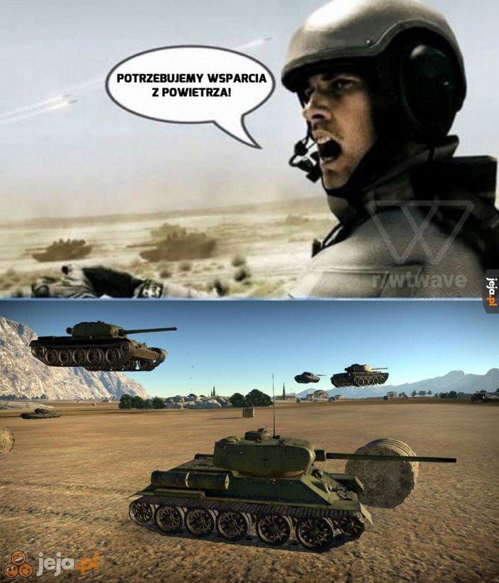 W końcu to gra o czołgach, nie?