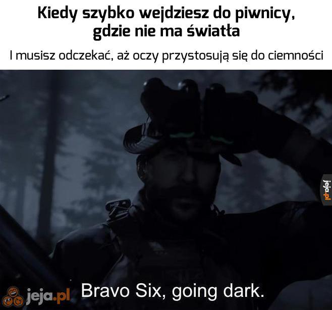 Widzę ciemność