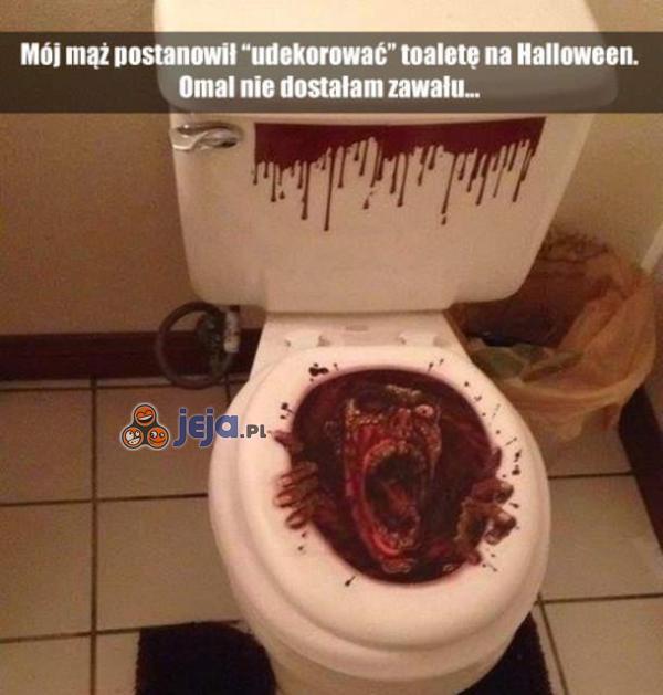 Dekoracja toalety