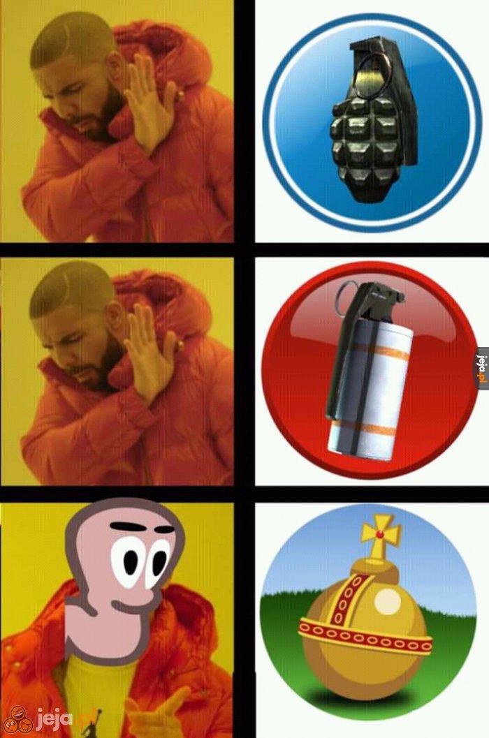Najlepszy spośród granatów