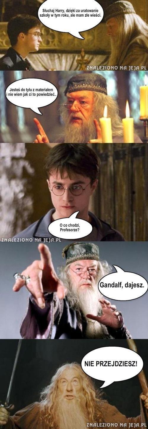 Złe wieści dla Harry'ego...