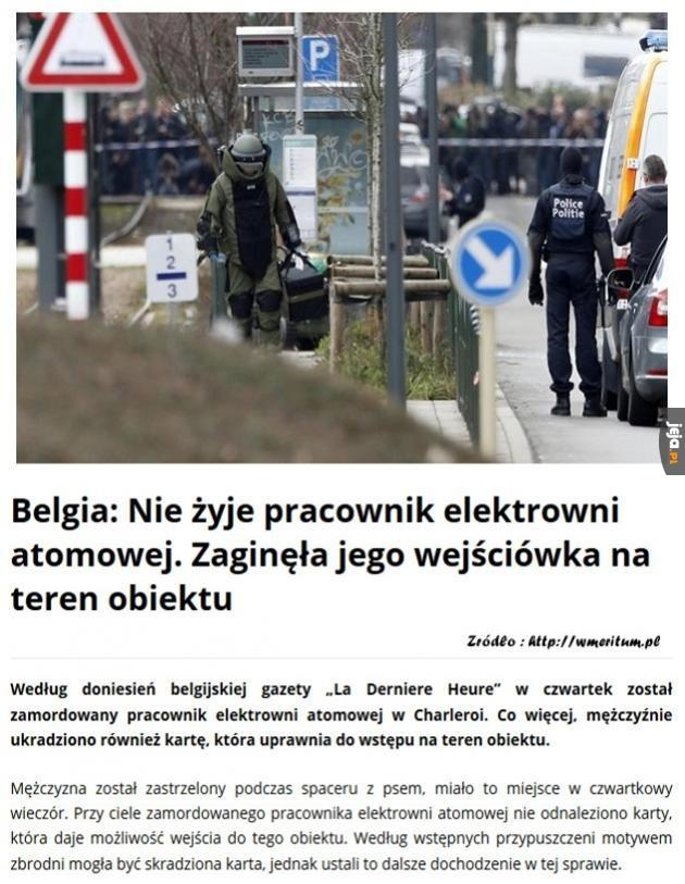 Ostatni dzwonek dla Belgii