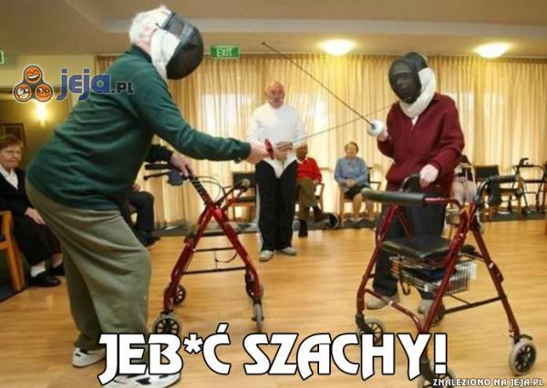 Starsi ludzie też potrafią się dobrze bawić
