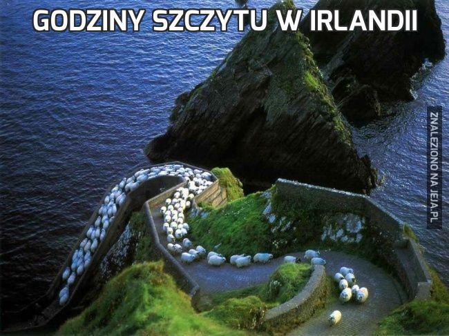 Godziny szczytu w Irlandii