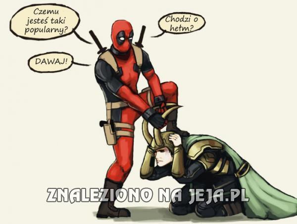 Deadpool jest zazdrosny