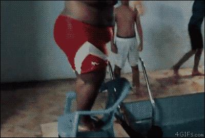 Krzesło to nie trampolina