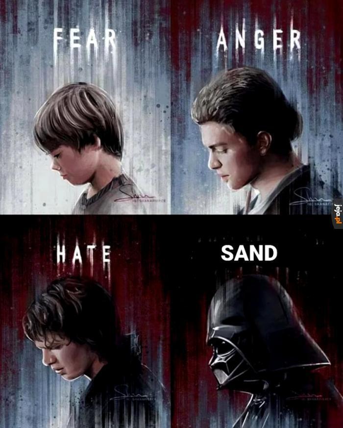 Nie lubię piasku