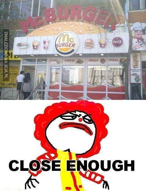 Burger King czy McDonald's?