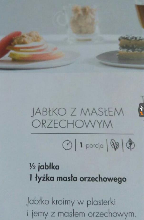 Zaawansowane danie dla studentów