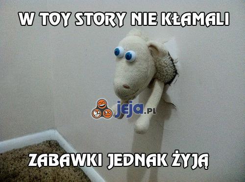 W Toy Story nie kłamali