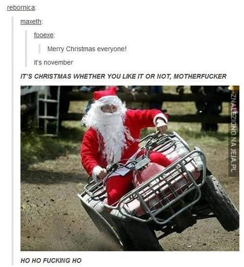 Mikołaj robi co mu się podoba!