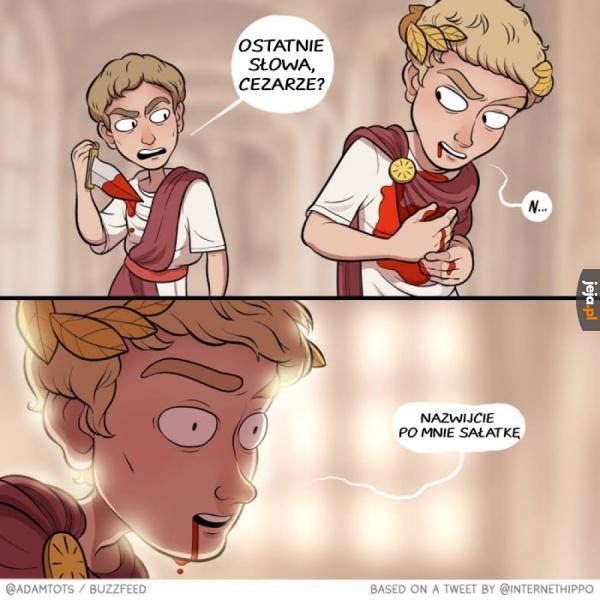 Sałatka Cezar
