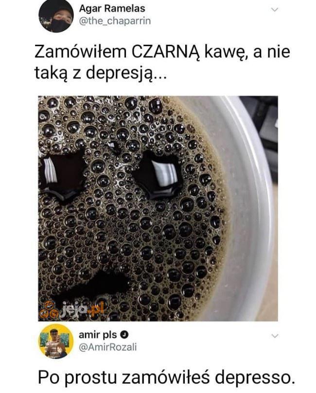 Jest zbyt czarna