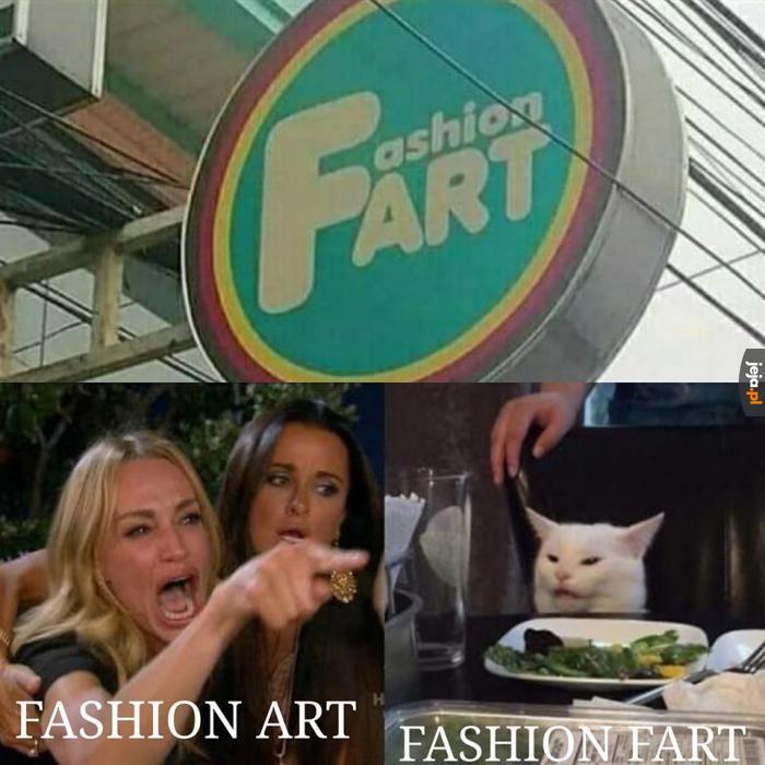 Ach, ta moda...
