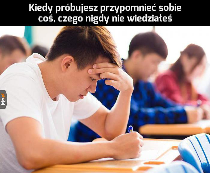 Na każdym teście