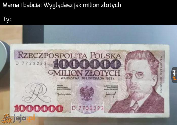 Milion to milion, nie dyskutuj