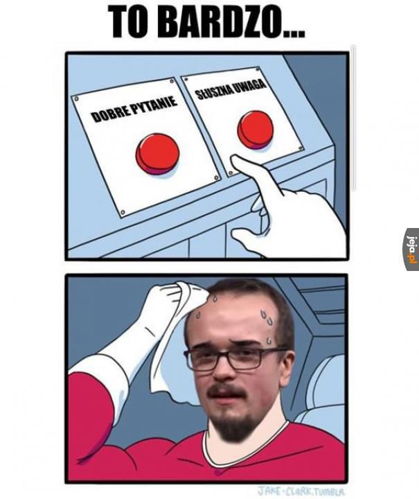 Trudny wybór dla pana Szymona z Wojny Idei