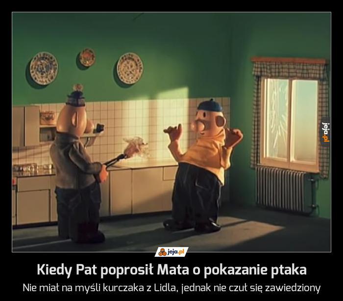 Kiedy Pat poprosił Mata o pokazanie ptaka