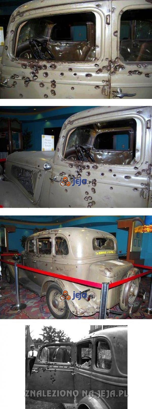 Ostatnie auto Bonnie i Clyde'a