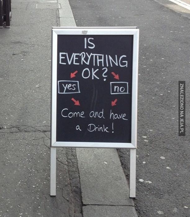 Wszystko u ciebie ok?