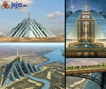 Piramida w Dubaju - jedna z największych budowli świata