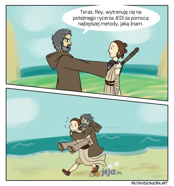 Najlepsza metoda na zostanie Jedi