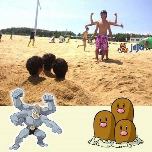 Pojedynek na plaży