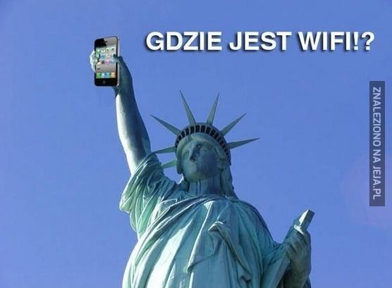 Gdzie jest wi-fi?!