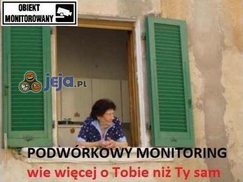 Podwórkowy monitoring